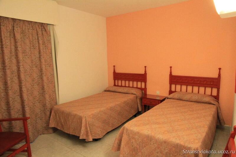 Спальня в 1-спальном аппартаменте в Sol Timor
