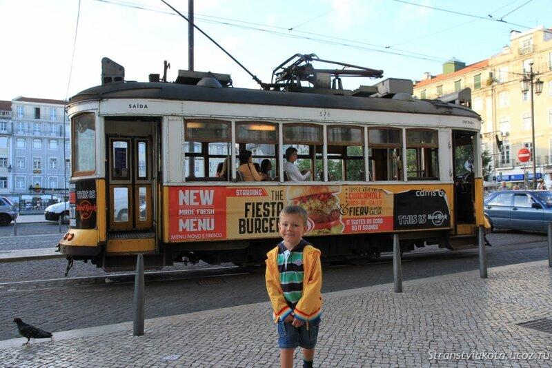 Маршрут трамвая 28 в Лиссабоне