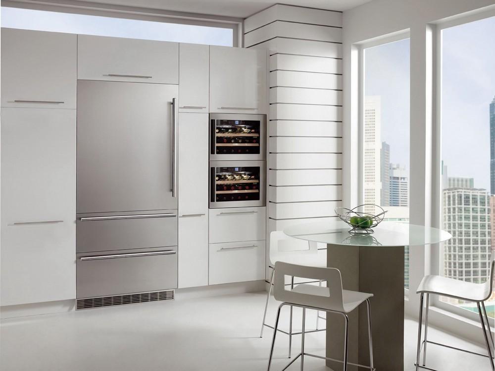 Большие стальные встраиваемые американские холодильники в Краснодаре - купить большой холодильник премиум-класса по хорошей цене