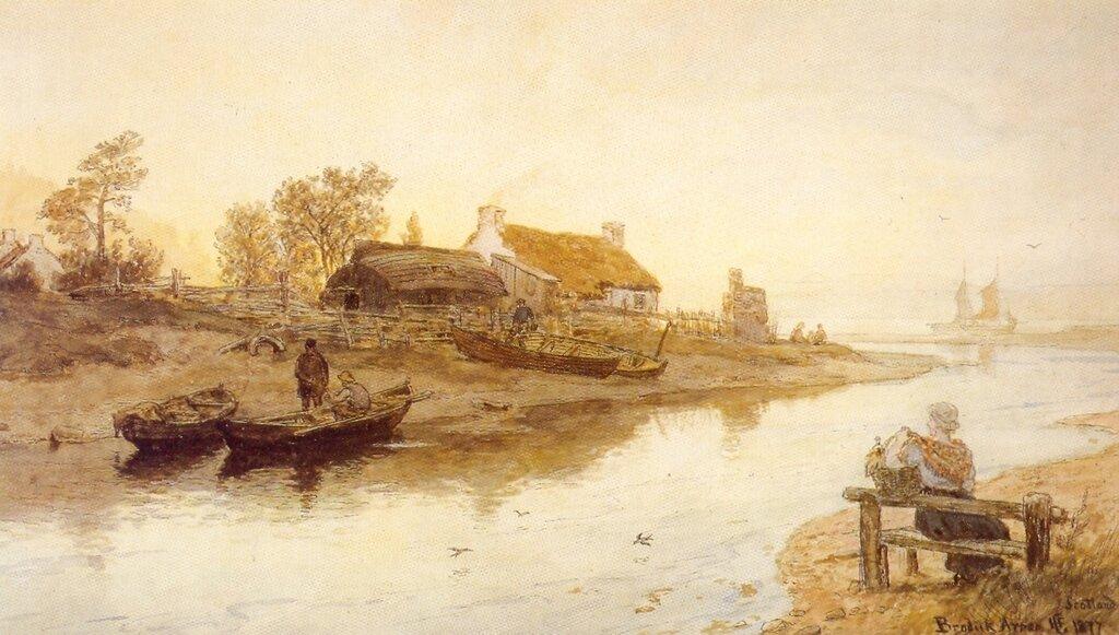 Hans Gude--Brodiik Arran--1877..jpg