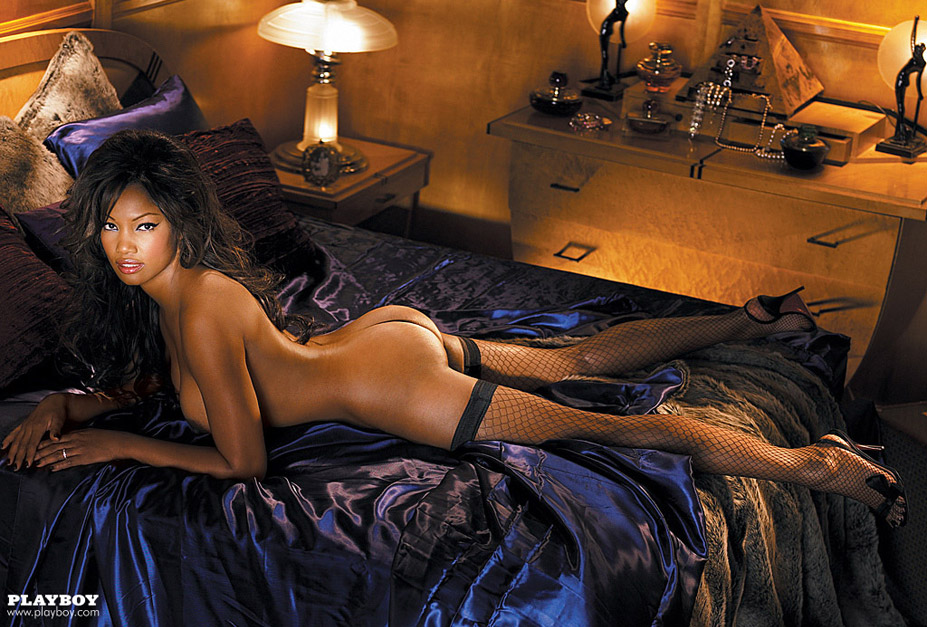 актриса Гарсель Бове / Garcelle Beauvais - Playboy US august 2007