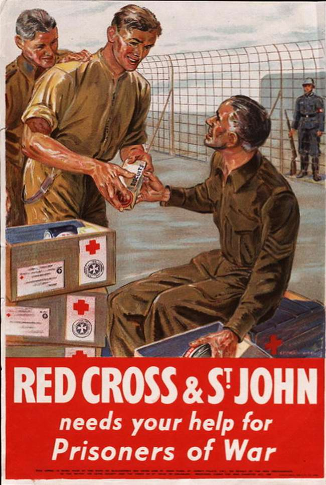 Красный Крест нуждается в твоей помощи для военнопленных - 1 - (Великобритания)