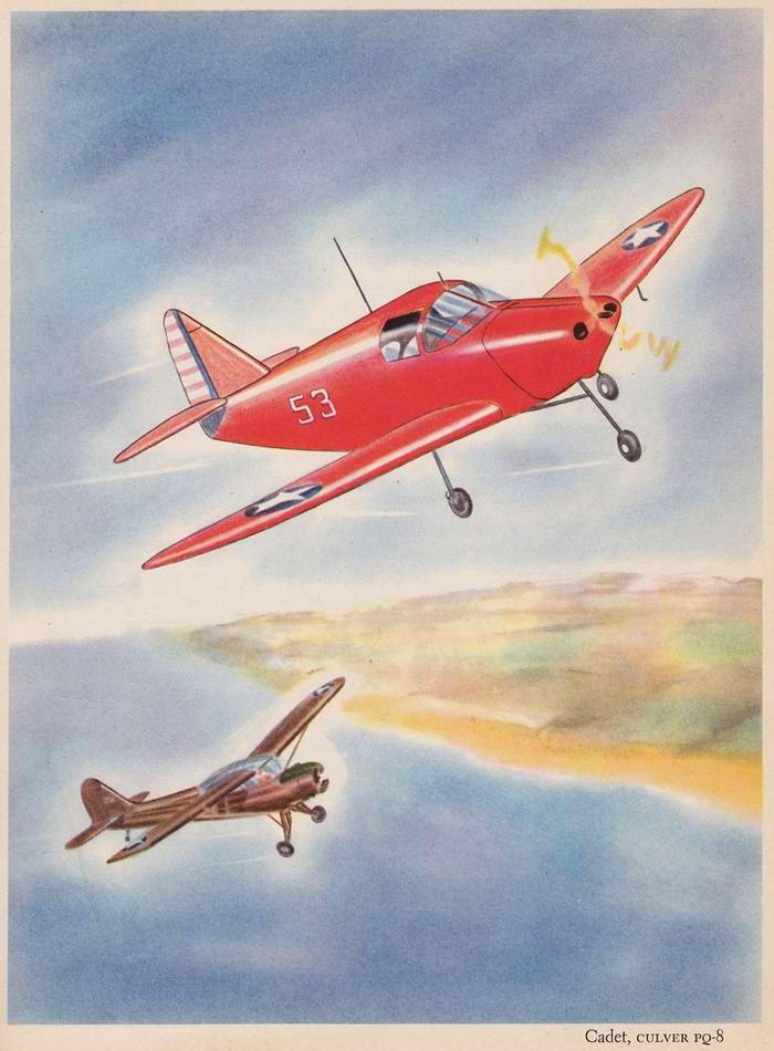 Culver Cadet PQ-8 - самолет-мишень