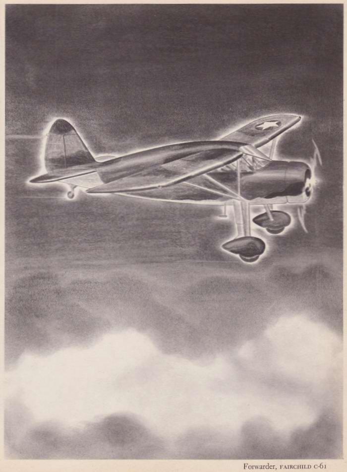 Fairchild C-61 Forwarder - патрульный и легкий транспортный самолет