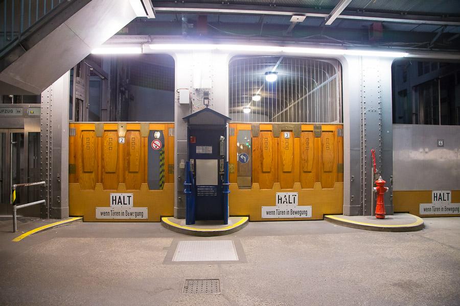 Старый тоннель под Эльбой в Гамбурге