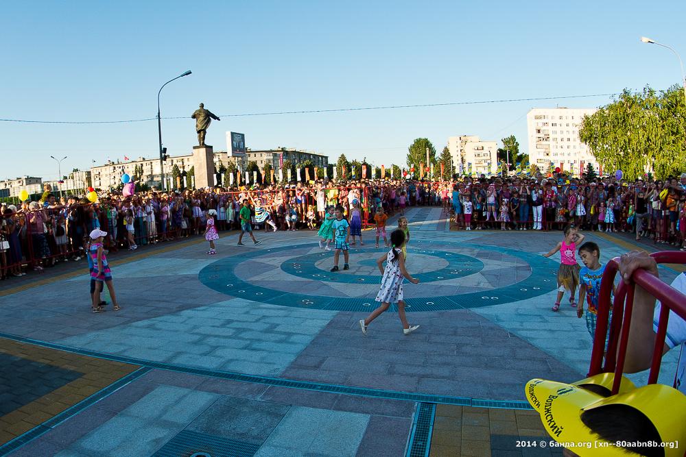 Празднование 60 лет Волжскому / 27 июля 2014