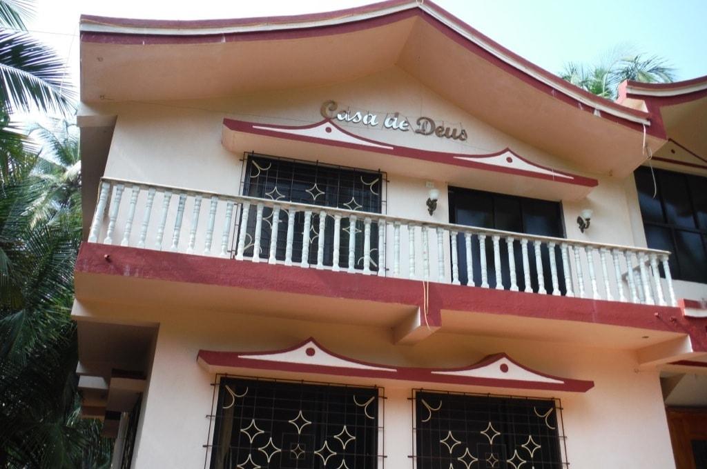 Например, у этого дома сдается второй этаж