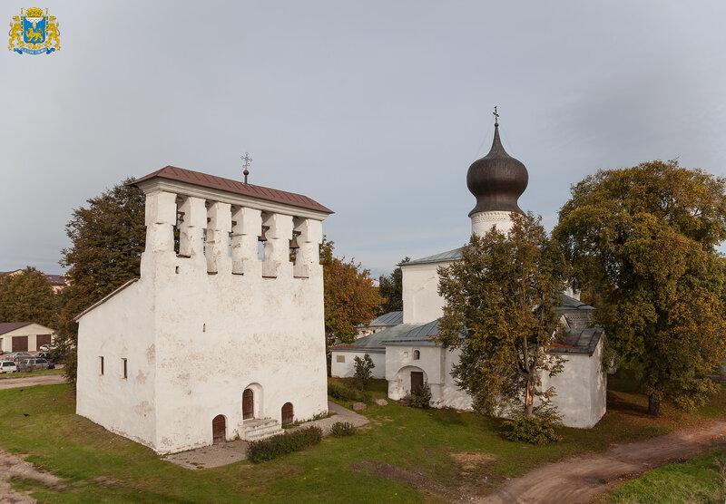 Псков. Успенский храм с Пароменья