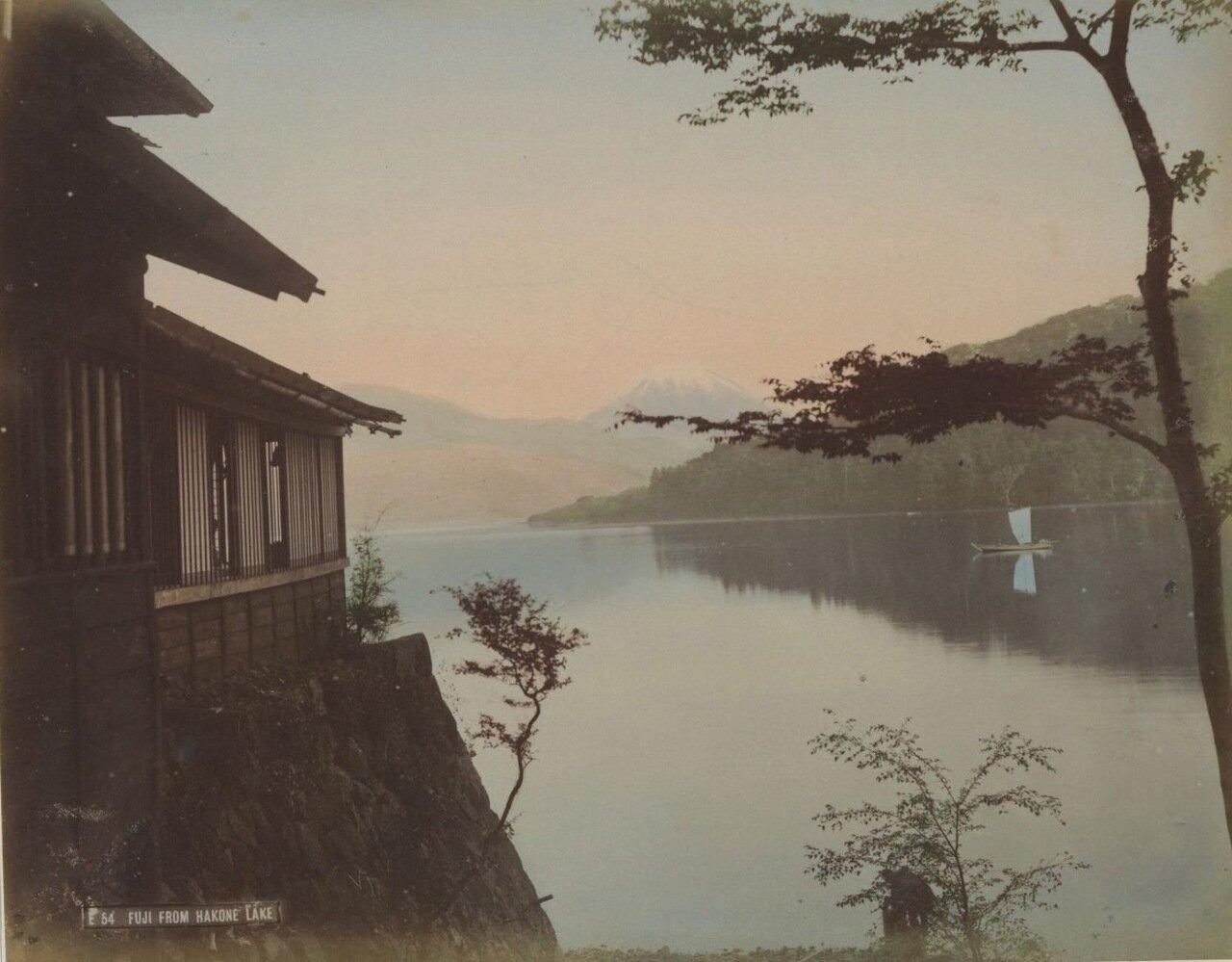 Фудзияма с Озеро Аси