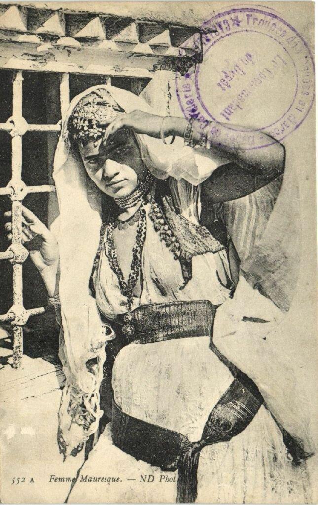 1910. Мавританка