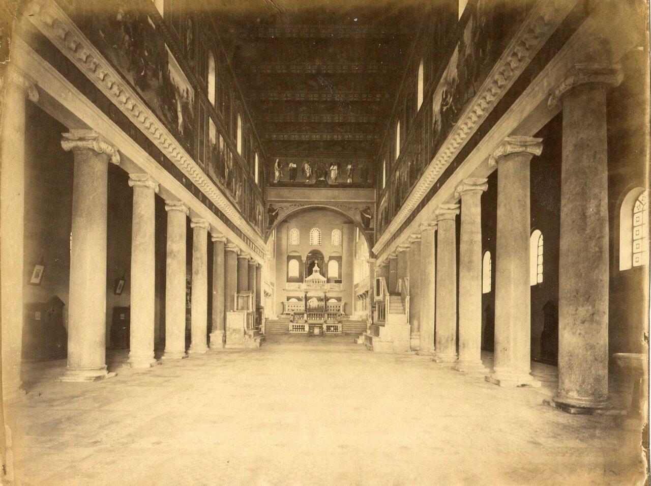 Церковь Сан Лоренцо фуори-ле-Мура. 1880