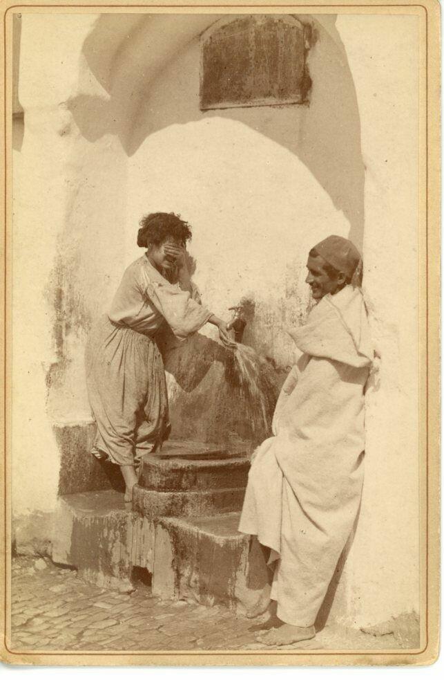 1880. Молодые арабы