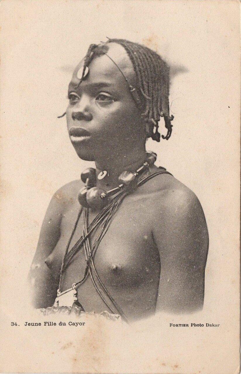 34. Сенегал. Девушка из королевства Кайор