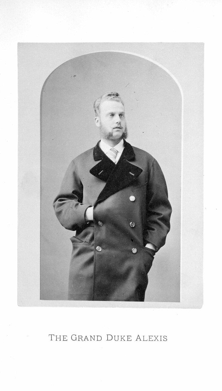 Его Императорское Высочество великий князь Алексей в Соединенных Штатах Америки в течение зимы 1871-72.