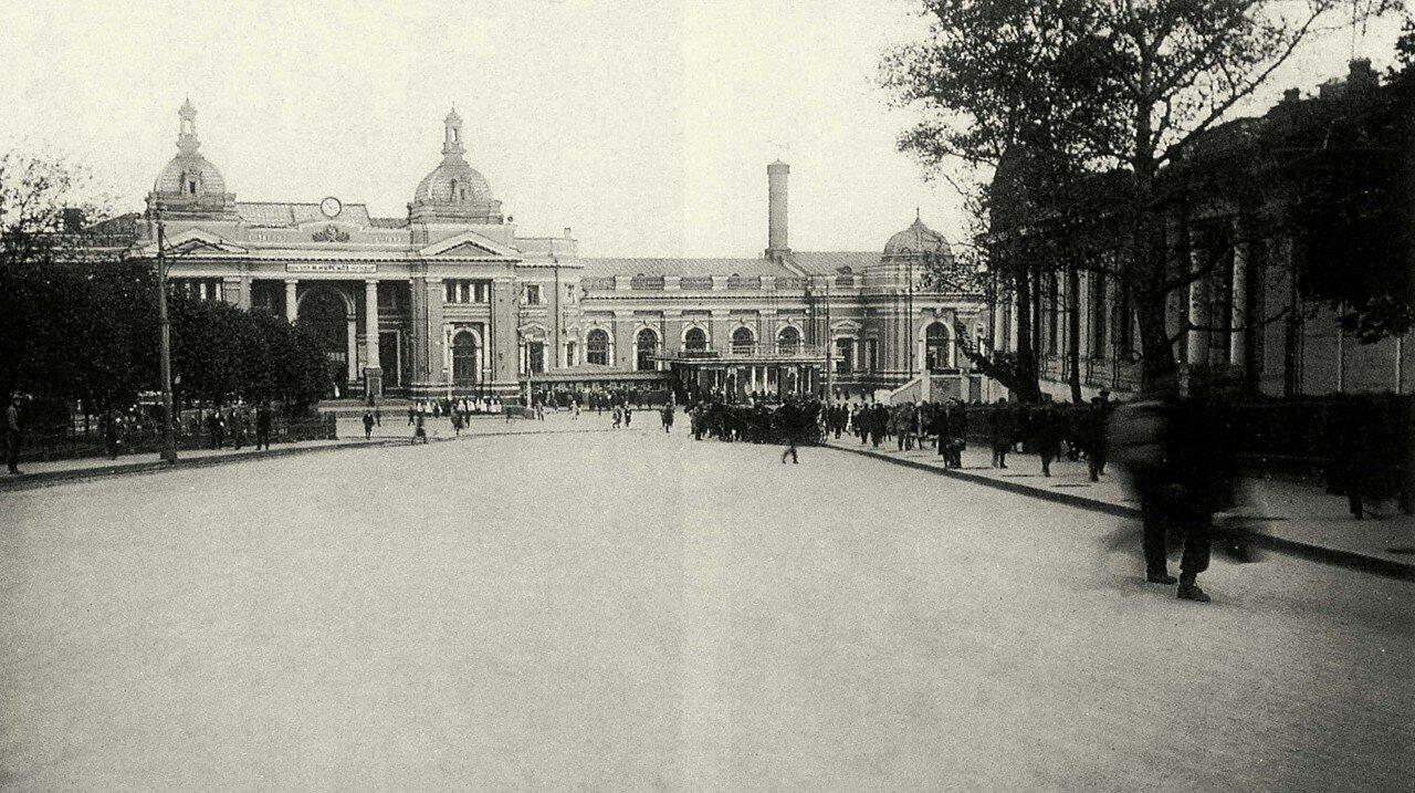 1925-1927. Курский вокзал