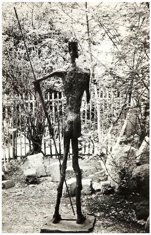 1950. Дон Кихот, скульптура Жермен Ришье