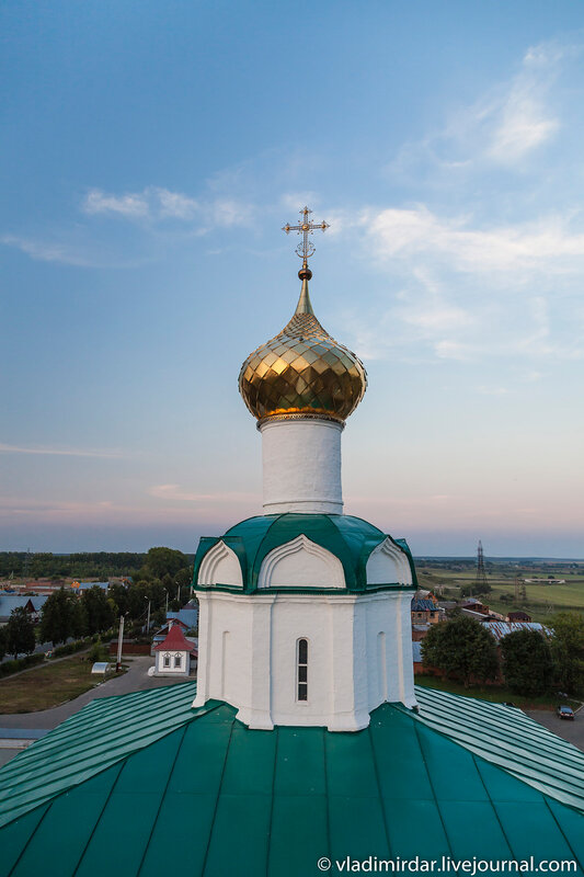 Глава Собора Василия Великого Васильевского монастыря