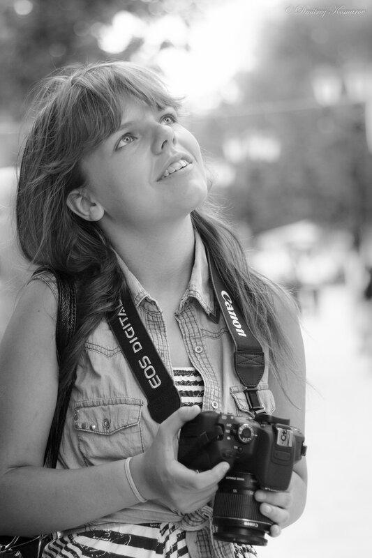 Восторженный фотограф