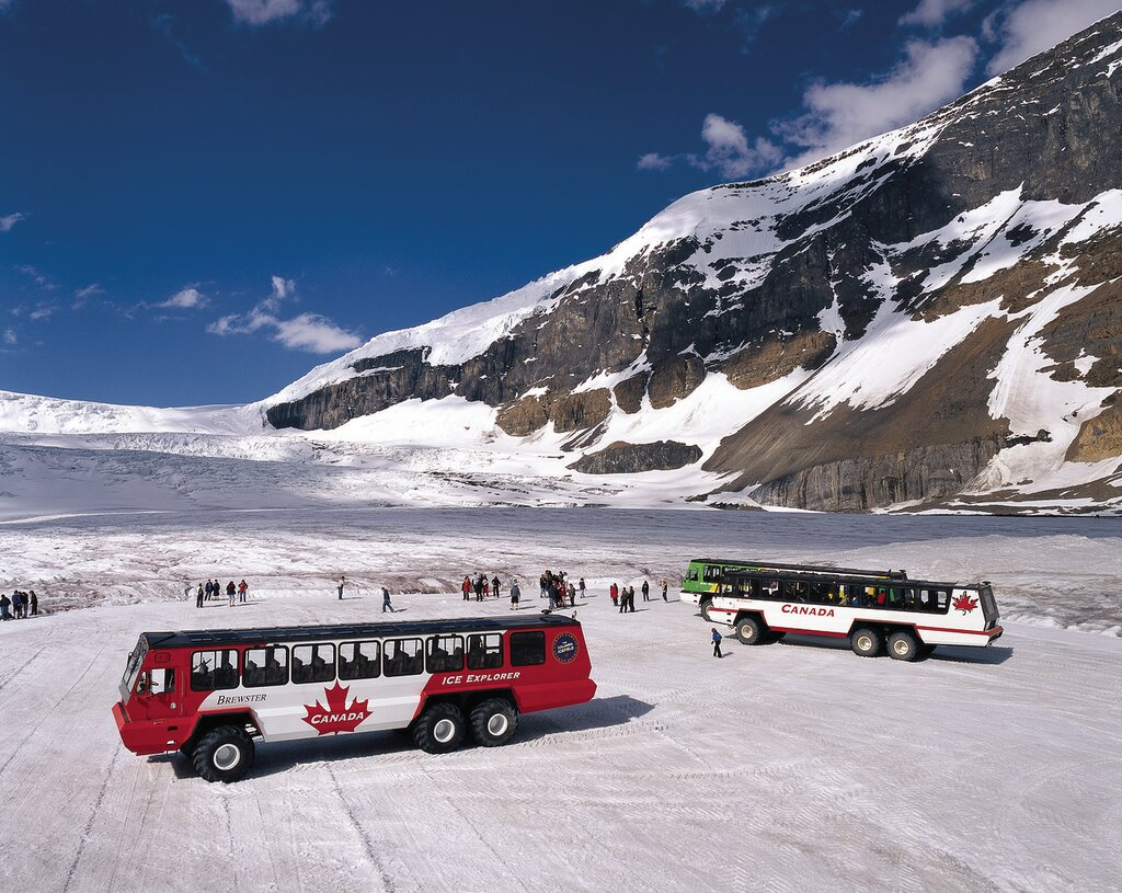 Columbia Icefield 5, Columbia Icefield Glacier Experience