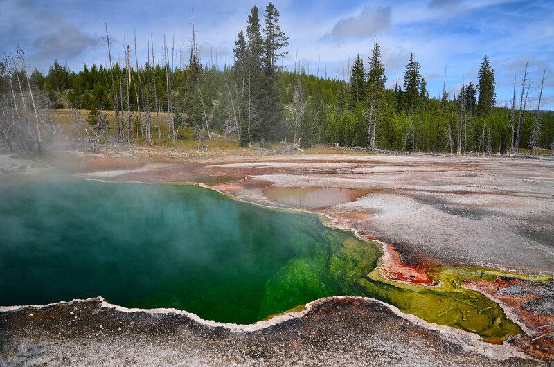 Горячая ванна Земли