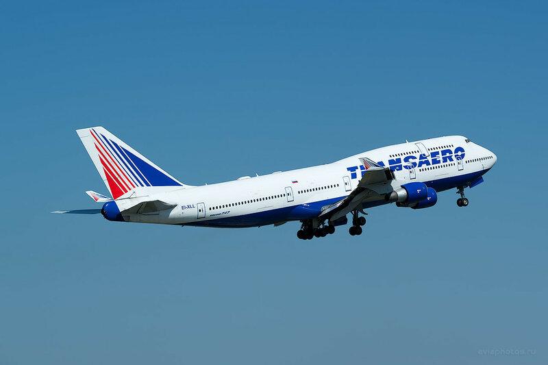 Boeing 747-412 (EI-XLL) Трансаэро D809447