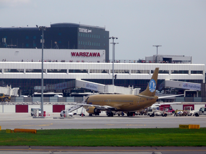 Аэропорт в Варшаве