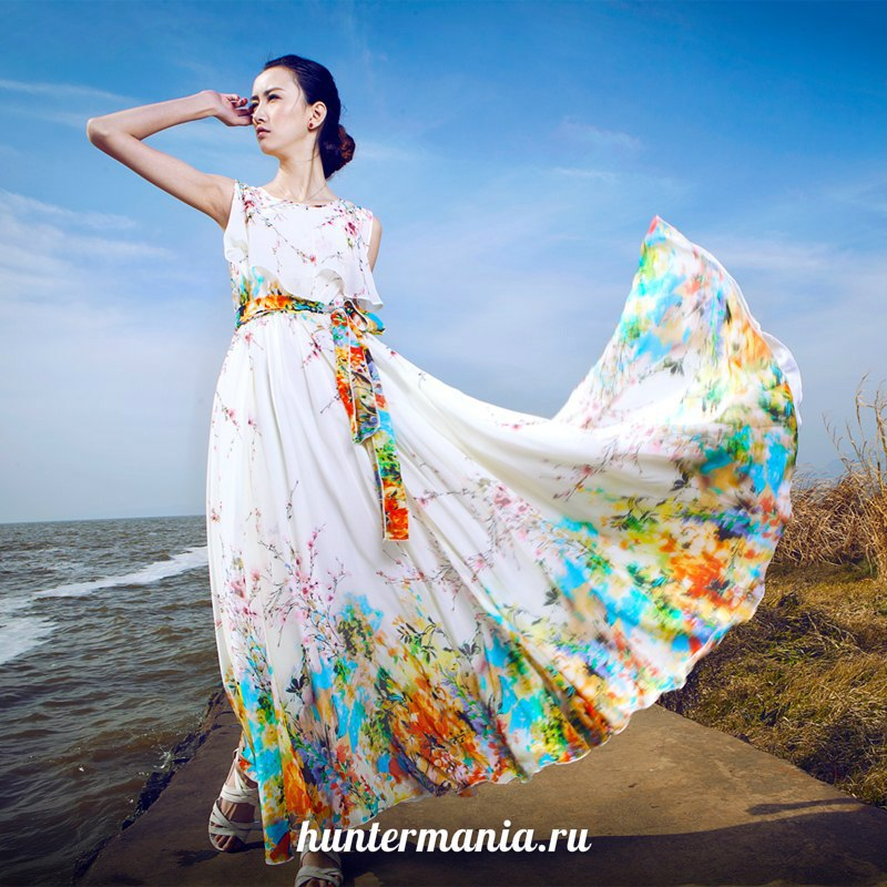 Сарафаны и платья в пол. Создаем образ тургеневской девушки