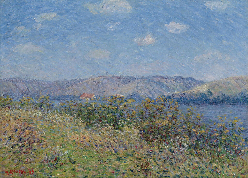 Gustave Loiseau - The Banks of the Seine, Tournedos-sur-Seine, 1899.jpeg