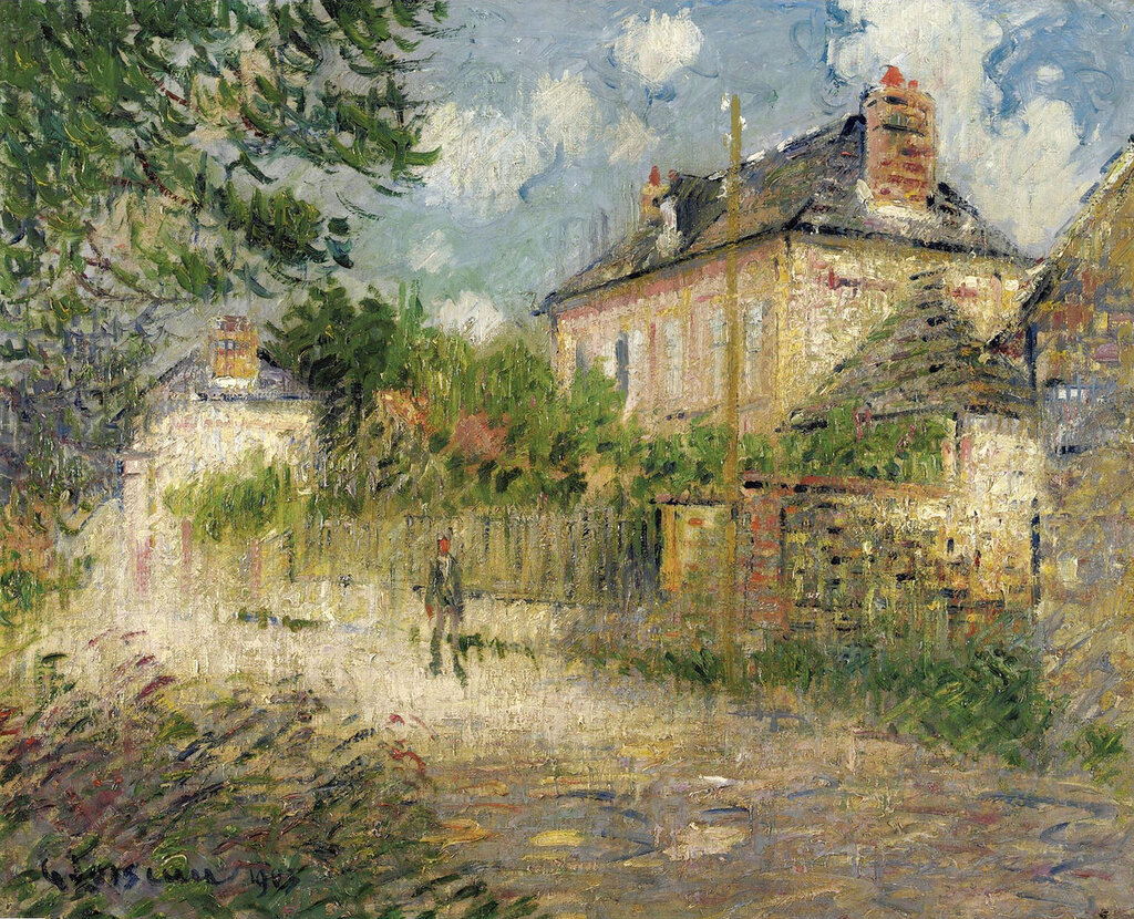 Gustave Loiseau - The House of Monsieur Compon at Vaudreuil, 1923.jpeg