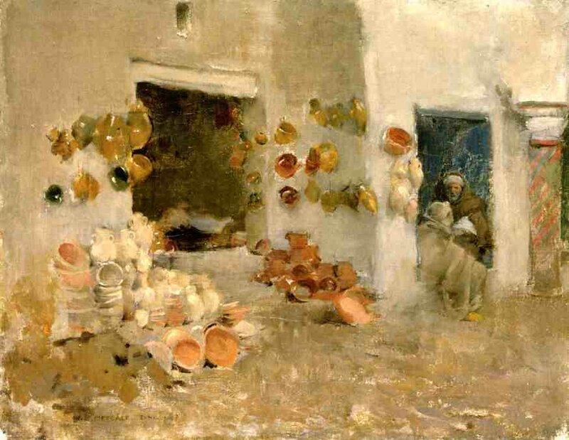 Pottery Shop at Tunis, 1887.jpeg