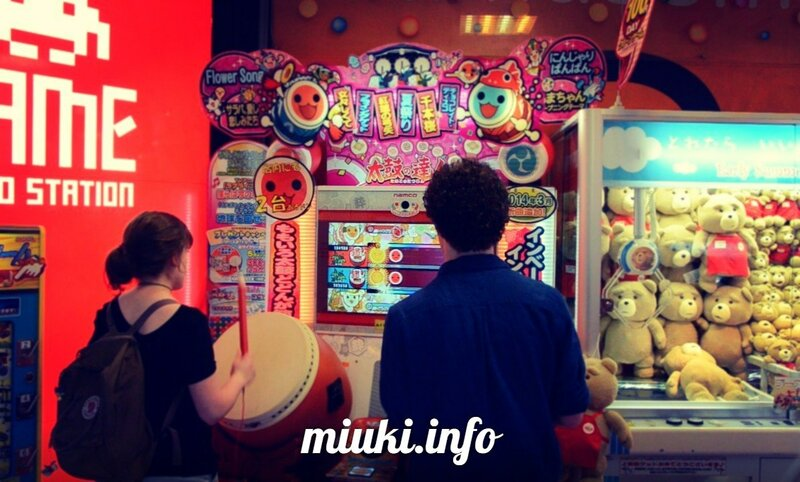 Японские торговые и игровые автоматы