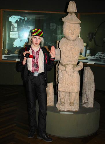 АРИЙ РАдаСлав в Запорожском Краеведческом музее Веда