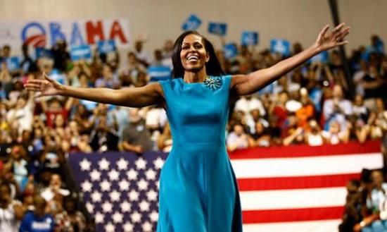 Мишель Обама — первое место в рейтинге самых стильных женщин