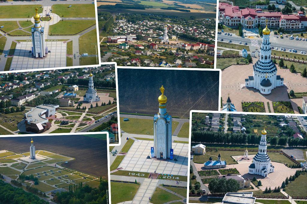 полёт, прохоровка, прохоровское поле, прохоровский район, небо, самолёт, звонница, храм, музей