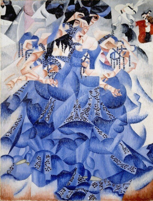 Ballerina in Blue - Джино Северини.jpg
