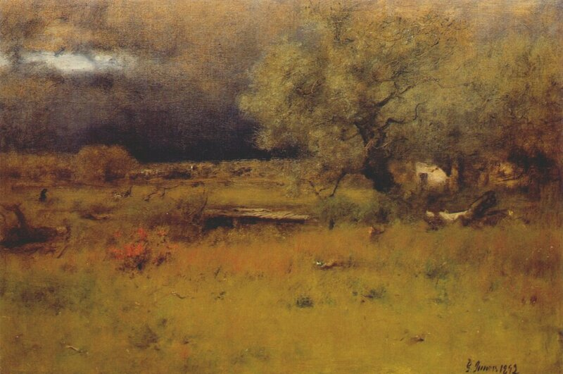 The passing storm, 1892