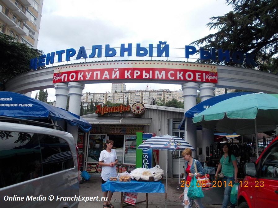 Рынок Ялты