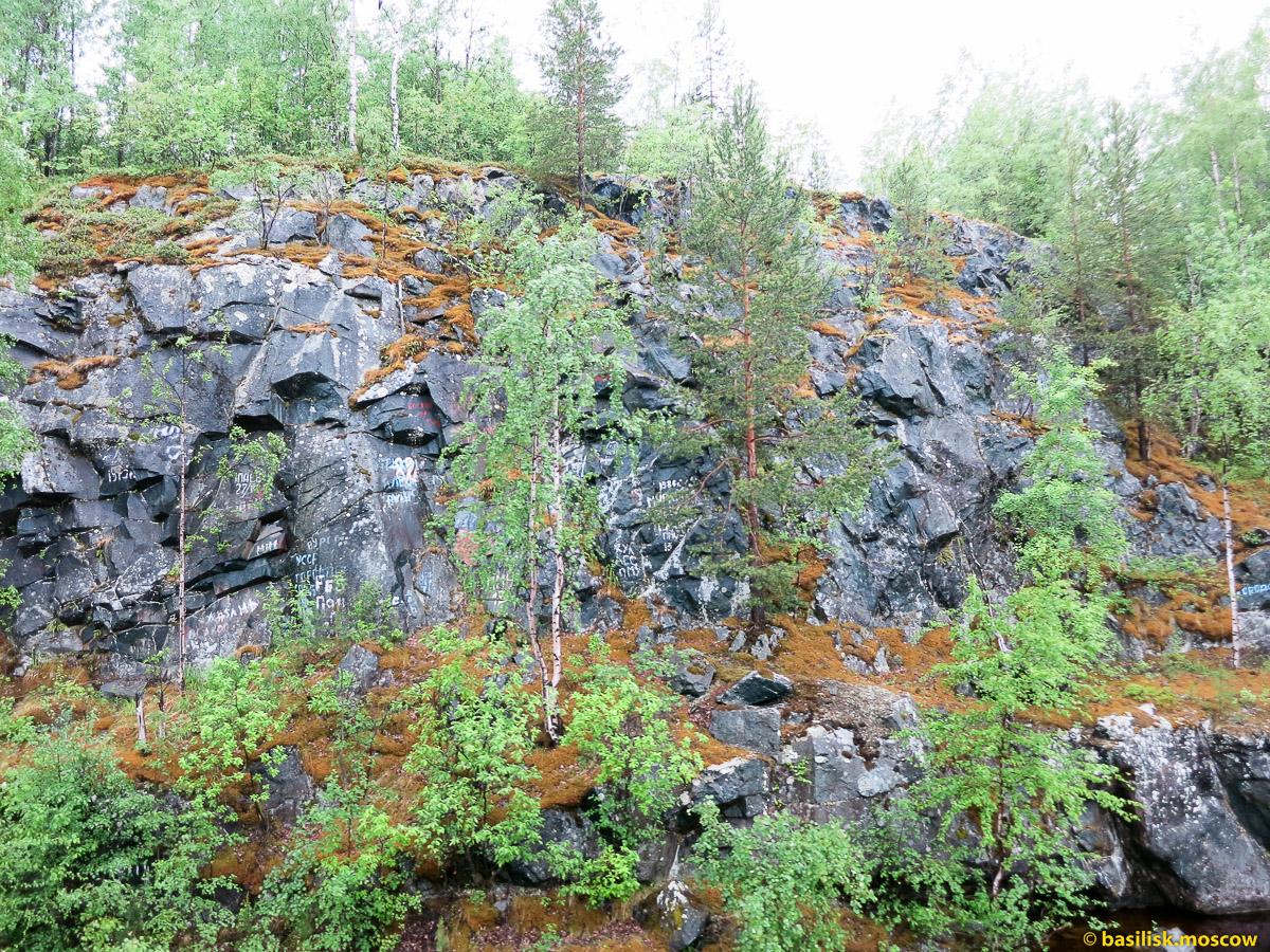 Беломорск. Беломорские петроглифы и водопады.