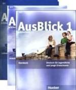 AusBlick 1 Brückenkurs (Kursbuch & 2 Audio-CDs, Arbeitsbuch & Audio-CD, Lehrerhandbuch)