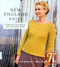 Книга New England Knits: Timeless Knitwear with a Modern Twist