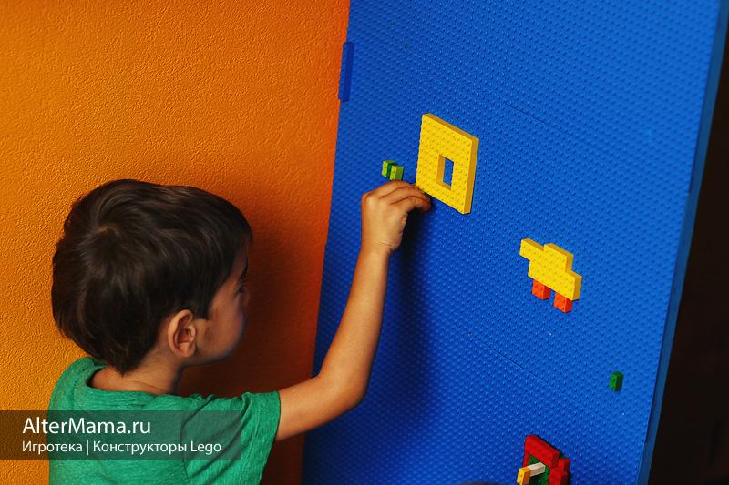Как сделать лего стену 199