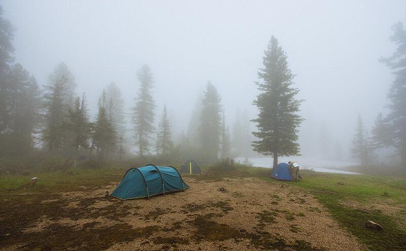 Туман в Ергаках