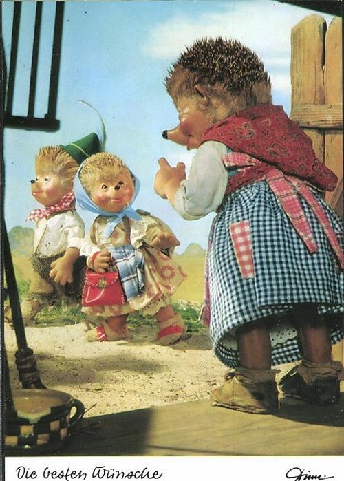 Кукольные ежики - Mecki
