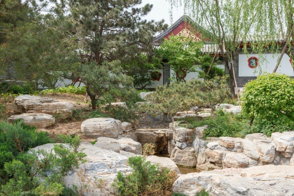 Пекинский сад, Парк-выставка садов, Пекин