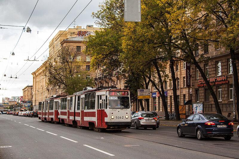 Такая схема движения трамваев