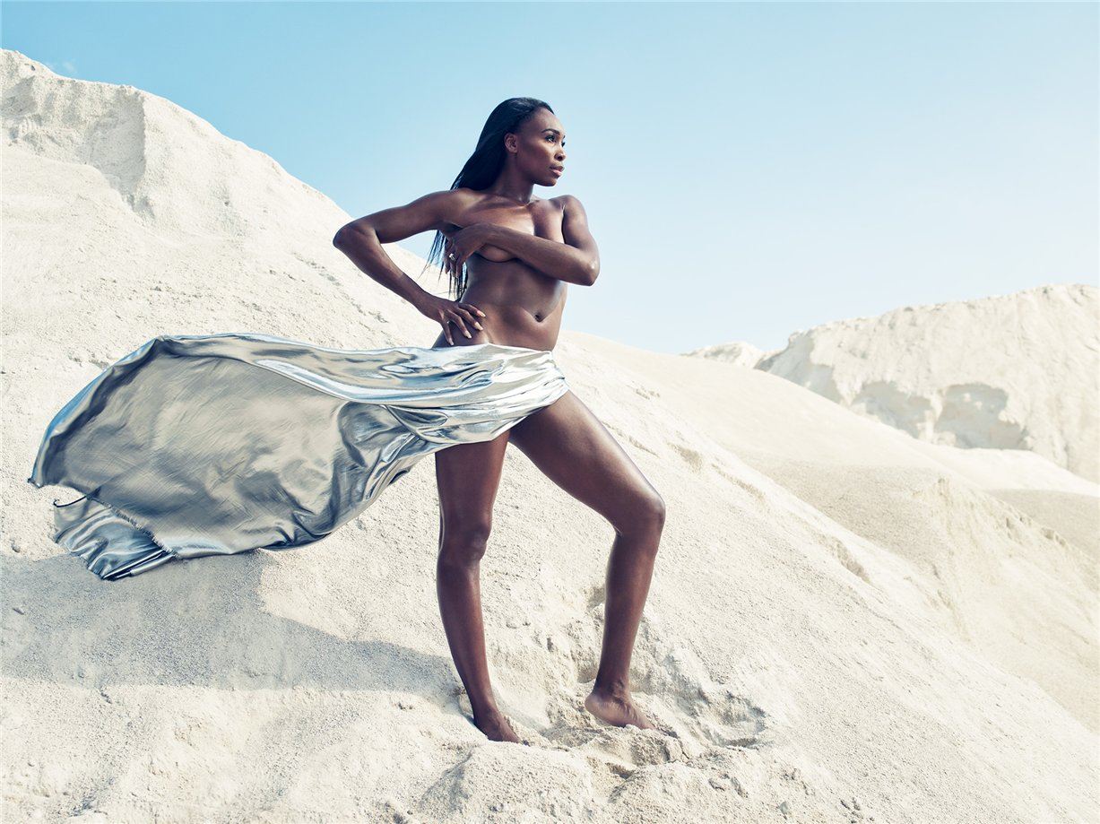 ESPN Magazine Body Issue 2014 - Venus Williams / Винус Уильямс
