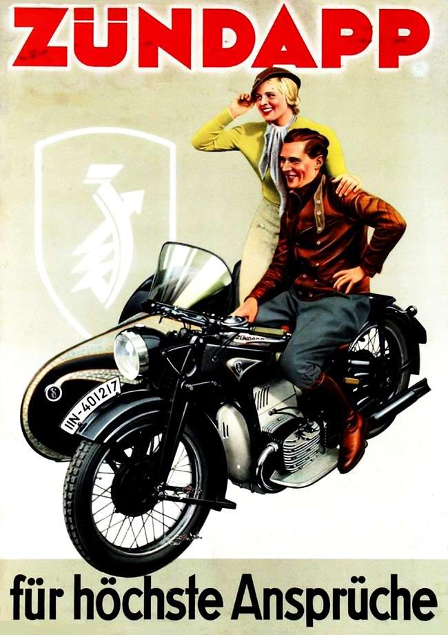 Zundapp - Германия (1936 год) - 3