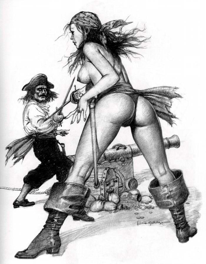 Графика: истории из жизни девушек - пираток (51)