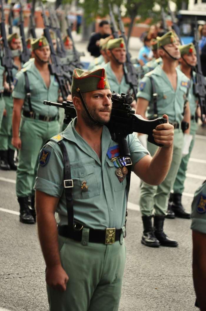 прославился иностранный легион испании фото территории