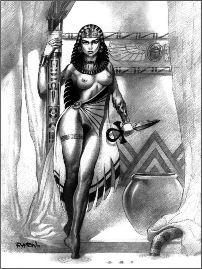 Правдивые истории из жизни девушек Древнего Египта (1)